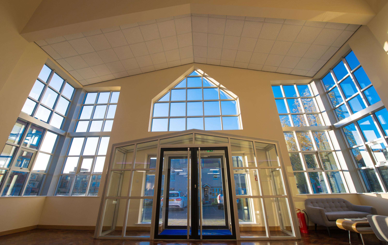 Apex lifts internal building