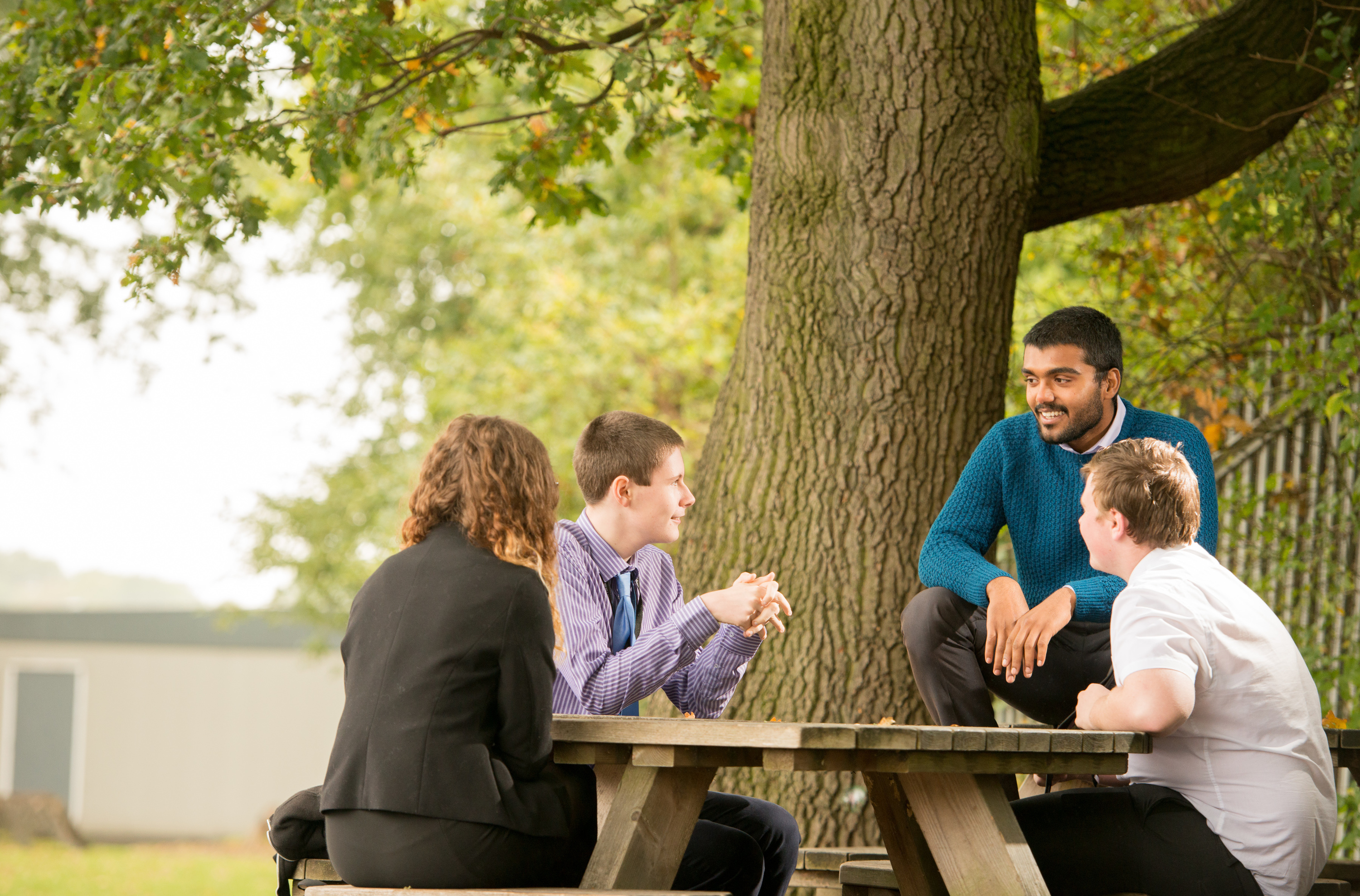 School brochure and website photography for Edenham High Schools sixth form
