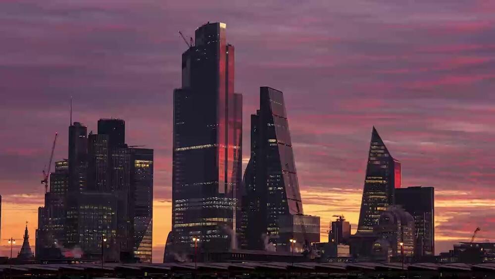 Corporate video photo. London Skyline
