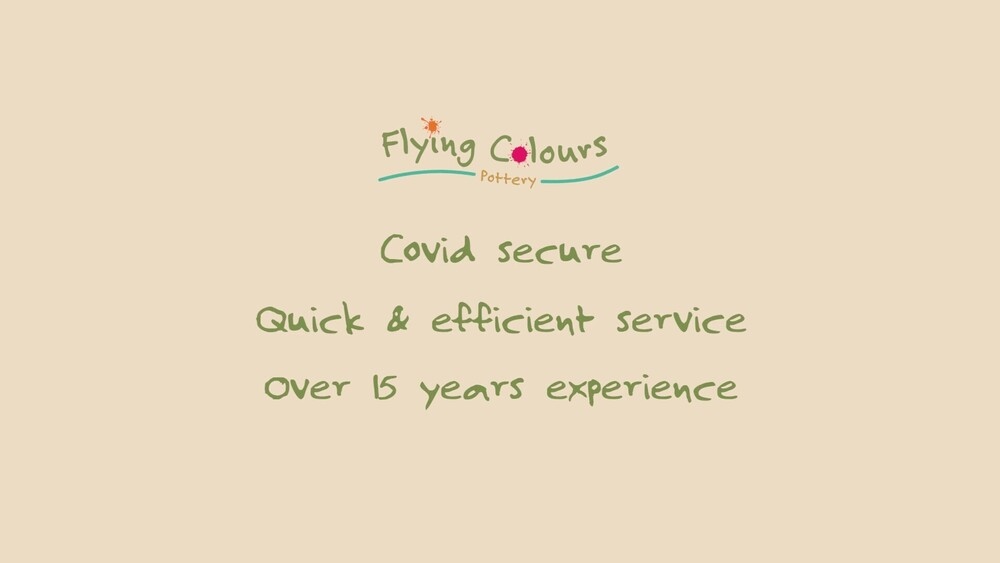 Flying colours pottery